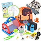 Outdoor Explorer Kit & Bug Catcher Kit with Binoculars, Flashlight, Compass, Magnifying Glass,...
