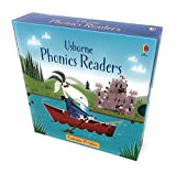 Usborne Phonics Young Readers 12 Books Collection Set Big pig on a dig, Goose on the loose, Fat cat on a mat, Toad makes a road, Teds Shed, Fox on a box, Sam sheep cant sleep, Mouse moves house, Frog on a log, Shark in the park, Ted in a red bed, Etc