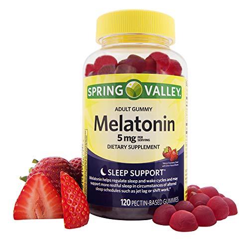 Spring Valley Adult Gummy Melatonin Sleep, 120 Gummies