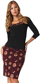 8c5582449e145 Amazon.com.tr: Siyah - Triko / Kıyafet: Moda