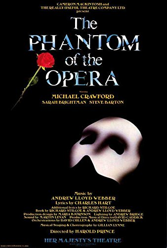 Póster de Phantom of the Opera, The (Broadway), 69 x 102 cm (1988)