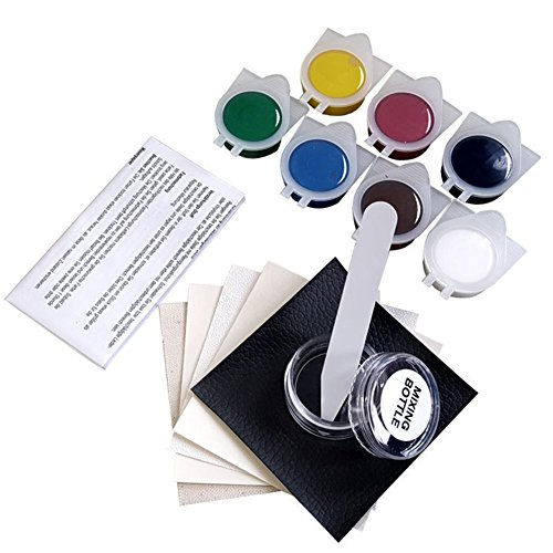 Pro No Heat Liquid Leather Repair Kit For Sofas, Car Seats, Furniture, Chairs of Leather - Patch, fill and Touch Up Scratches, Tears and Other Damaged Areas