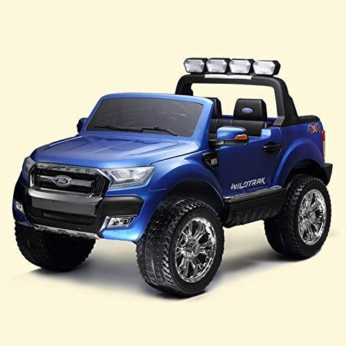 WGFGXQ Elektroauto für Kinder, Spielzeugauto mit Allradantrieb, sitzende Personen, ferngesteuertes Auto, Zweisitzer-Geländewagen, Kinderspielzeug/Geburtstagsgeschenke