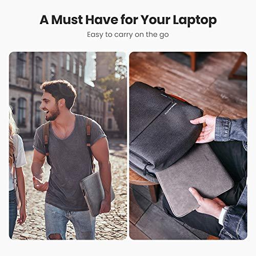 UGREEN Laptop Tasche Schutzhülle 13.3 Zoll Notebook Case wasserdichte Hülle kompatibel mit MacBook Air MacBook Pro, Lenovo Thinspad, LincPlus P1, Huawei Matebook, Samsung Notebook, Asus Zenbook usw.