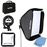 Godox 24'x 24' 60cmx60cm Foldable Universal Softbox with S Style Speedlite...