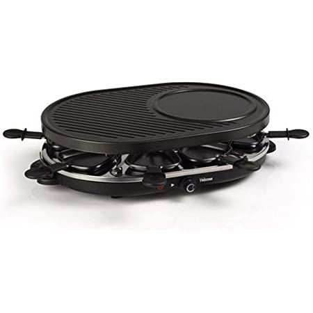 Raclette Tristar RA-2996 – Pour 8 personnes – Avec zone pour les crêpes