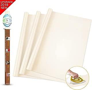 SS SHOVAN 3 Pieces White PTFE Teflon Sheet for Heat Press Transfer Sheet 16 x 16