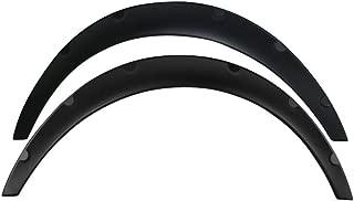 Fender Flares Compatible With Universal | V2 Matte Black Polyurethane (PU) Front Flares 2 Piece 50mm by IKON MOTORSPORTS