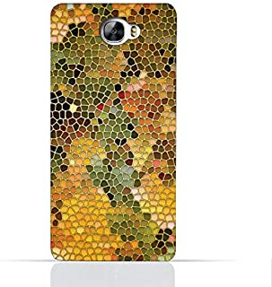 Huawei Y6 II Compact TPU Silicone Case With Stained Glass Art Design