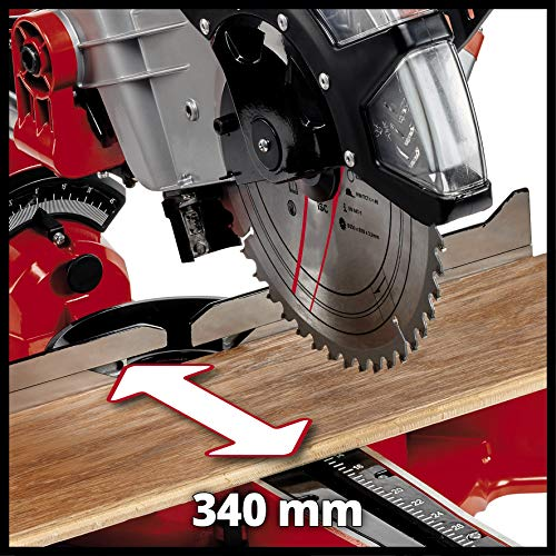 Einhell 4300395 TC-SM 2534/1 Dual Sliding Mitre Saw