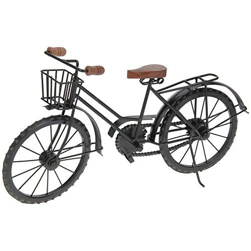Home @ Styling Collection Gartendekoration- Fahrrad mit Korb