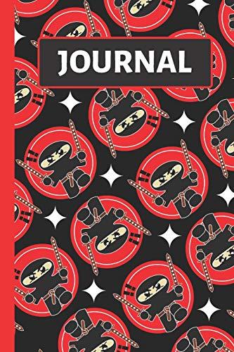 Journal: Kids Red & Black Ninja Journal / Notebook to Write in