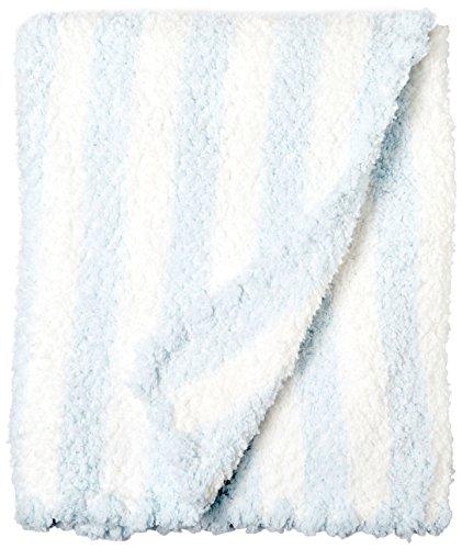 Applesauce Striped Baby Blanket, Blue/White