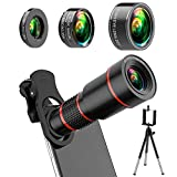 Best Android Camera Phones - 4K HD Phone Camera Lens Kit 10 in Review
