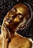 Diamante Painting Talla Grande Full Drill Pintura de Diamante 5D Adulto Niño DIY Bordado Rhinestone Punto de Cruz para la Decor de la Artesanía Pared del Sala Hogar(Mujer, dar forma 60x120cm)