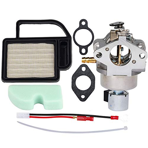 HIFROM Carburetor Carb Replacement Air Filter Pre Air Filter with Overhaul Kit Replacement for Kohler Courage SV Series SV530 SV540 SV590 SV600 15HP 17HP 18HP 19HP Engine #20-853-33-S