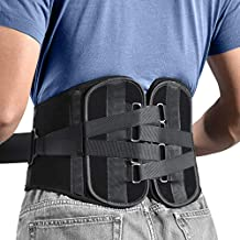 Freetoo Back Braces for Lower Back Pain Relief with 4-TIME Stronger Support, Two pieces Back Support Belt with Pulley System for Men/Women for Work,Anti-Skid Waist Support for Sciatica(M)