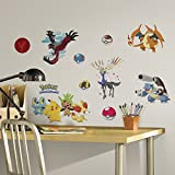 RoomMates Pokemon XY Peel And Stick Wall Decals - RMK2625SCS, Multi