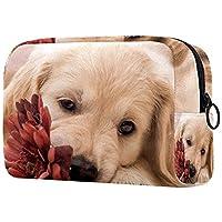化粧トイレタリーバッグ 巾着化粧鞄, 動物の犬