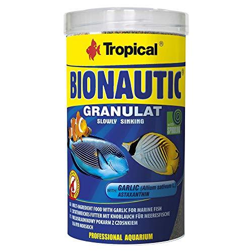 Tropical Bionautic Granulat Futter für kleine bis mittelgroße Meerwasserfische, 1er Pack (1 x 500 ml)