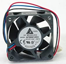 Set of 4 !! AFB0612EH-ABF00 60 x 60 x 25mm Cooling Fan, 6800 RPM, 38.35 CFM, 46.5 dBA, 3 pin Tach connector. Ship from USA !!