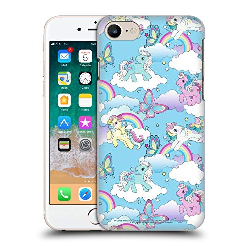 Head Case Designs Officially Licensed My Little Pony Classic Rainbow Unicorns Off My Cloud Hard Back Case Compatible with Apple iPhone 7 / iPhone 8 / iPhone SE 2020
