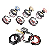 VGEBY1 Bicycle Headset Bearing, 42 52mm Bike Front Fork Headset Tapered Tube Cycling Headset Accessory