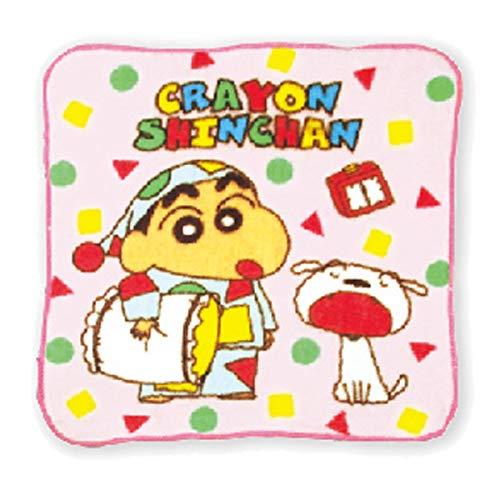 クレヨンしんちゃん ミニタオル ピンクパジャマ