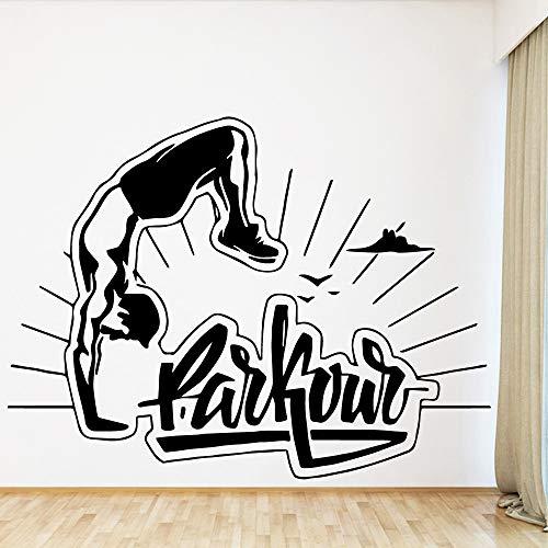 Tianpengyuanshuai sport-muursticker van vinyl, voor het versieren van de kinderkamer