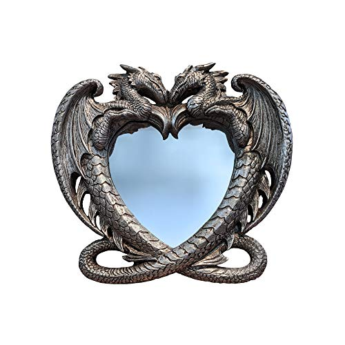 Gothic Dragon's Heart Mirror