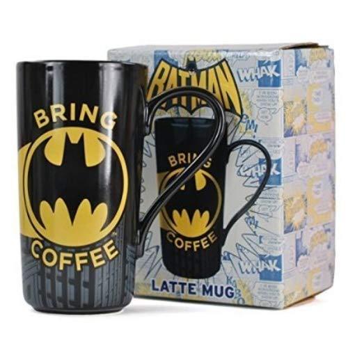 Batman Tasse à latte macchiato en grès 475 ml