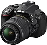 Nikon D5300 Digital SLR Camera with 18-55mm VR Lens Kit - Black