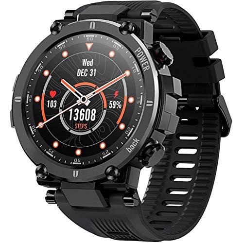 Relojes de pulsera Reloj Deportivo Inteligente con Cuerpo Ultraligero Y Resistente, 30 Días de Duración de La Batería, IP68 A Prueba de Agua, 20 Modos Deportivos de Seguimiento de Actividad Al Aire Li