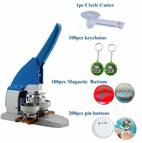 Best Buy! New Pro 1-1/4 32mm Badge Button Maker Machine Kit