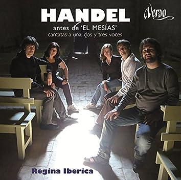 """Handel antes de """"El Mesías"""": Cantatas a una, dos y tres voces"""