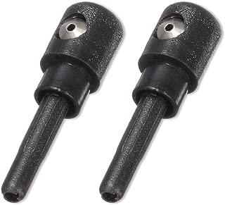 KIMISS Pompa per ugello lavavetri per Auto Pistola per Lavaggio Lato Sinistro Materiale ABS Nero