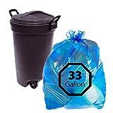 Primode Blue Recycling Trash Bags 33Gallon...