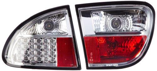 FK Automotive FKRLXLSE201 LED Feux arrière, Chromé