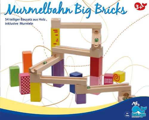 Beluga Spielwaren 77020 - Murmelbahn Big Bricks