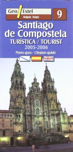 Santiago de Compostela 2005-2006: Gallec-Castellà-Anglès (Ciudades. Planos/Guia)