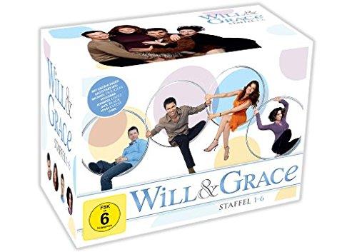 Will & Grace - Staffeln 1-6 (24 DVDs)