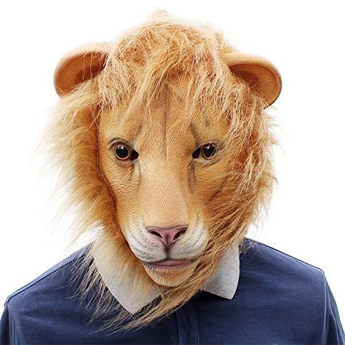 NoNo Halloween Cosplay Partei Lustige Tiere Lion Bar Latexmasken