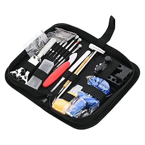 Takefuns Herramientas de mantenimiento Reparaciones Kit de desmontaje conjunto 147 unids 144 unids/set Gereedschap piezas metal para reloj caso abridor primavera