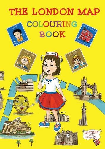The London Map Colouring Book