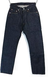 [ドゥニーム] Original Line XX-MODEL ダブルエックス ストレート 5ポケット デニム ジーンズ セルヴィッジ 革パッチ 綿100% 日本製(メンズ/ボトムス/アメカジ)(DP15-001)