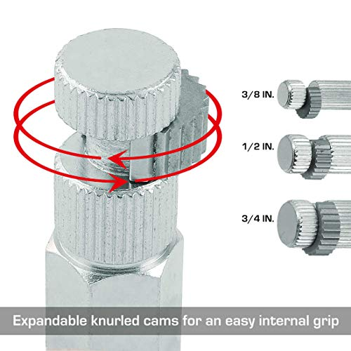 HAUTMEC Internal Pipe Wrench Set, Easy Internal Grip On Pipe Nipples PL0031