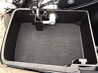 Top Shelf Custom Injection Molded ABS Saddlebag Organizer Tray, 2014 - Current H-D ABS Hard Bags, LFT