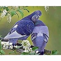 1500個の木製 教育的 のパズルの装飾のおもちゃ -鳩(6歳以上が適しています)(87x57cm)