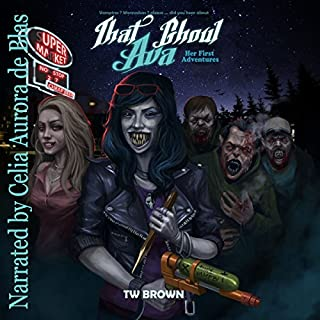 That Ghoul Ava audiobook cover art