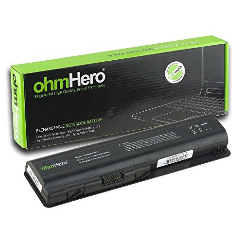 Batería ohmHero 5200mAh Reales, 10,8 V, Para Portátil HP compaq Presario CQ40-CQ...